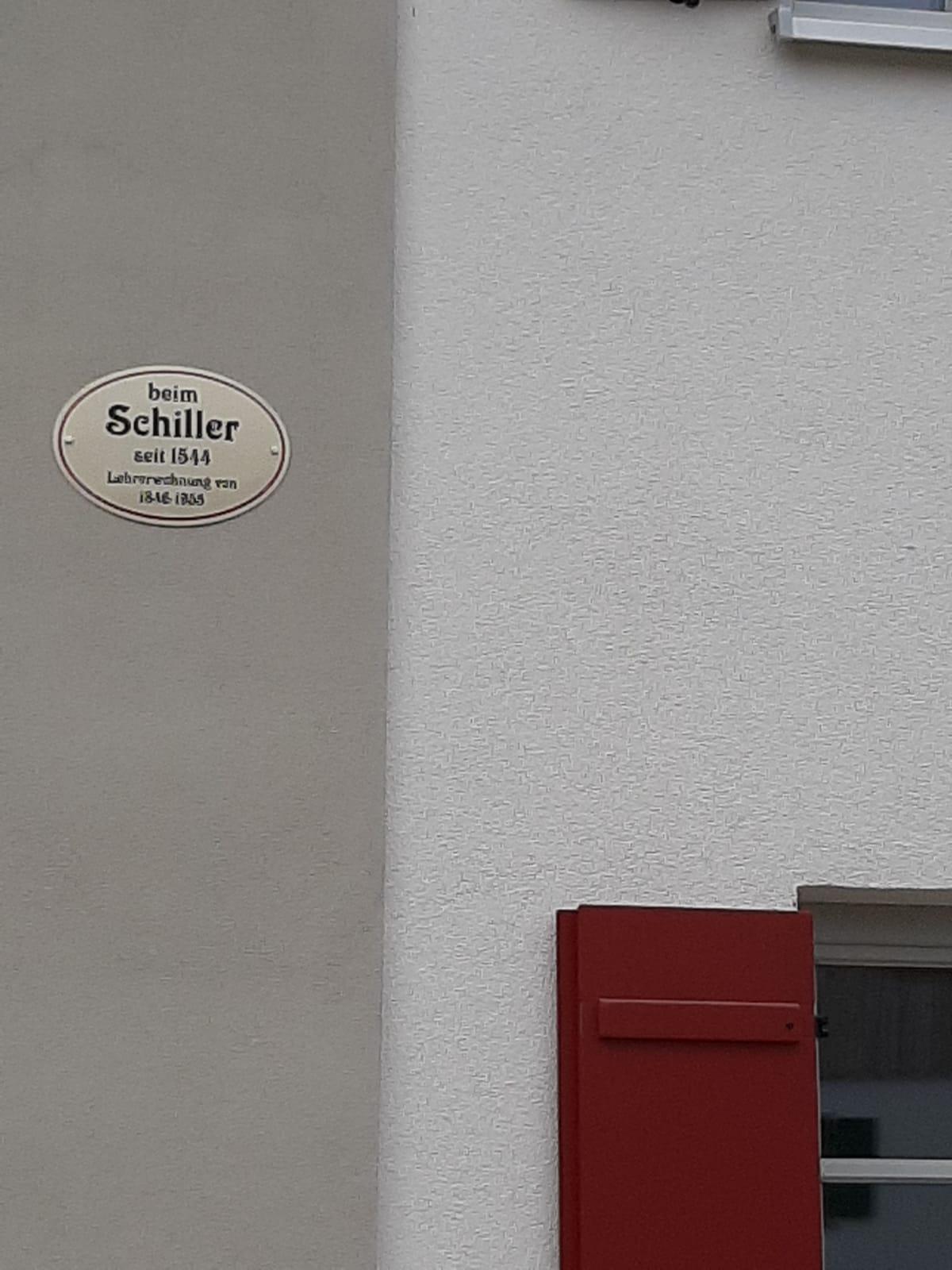 """""""beim Schiller"""""""