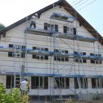 Bauphase Sommer 2019