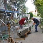 Maßarbeit Kamin